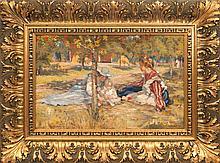 Janis Rozentals (1866-1916), In the autumn sun