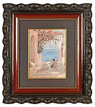 Janis Rozentals (1866-1916), Capri (Blooming Magnolia)