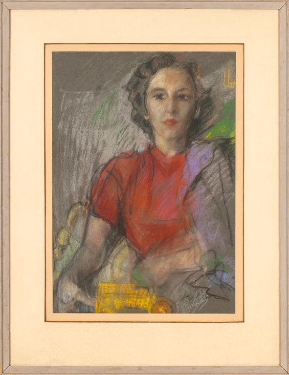 Portrait of Tatjana Suta (daughter)