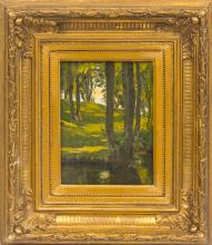 Summer landscape; Janis Rozentals (1866-1916)