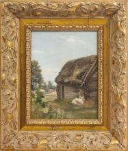 Country farm; Janis Rozentals (1866-1916)