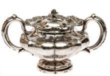 Silver sugar-basin by Dmitry Ilic Tverskoy, 84th/875th proof