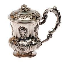 Silver cup by Carl Magnus, Russia, 1830's-1840's