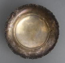 Silver bowl. 20th century 30's, Latvia, 875 purity