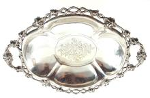 Silver fruit utensil with master initials, Germany