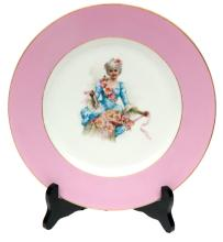1961-1884 Russia Kornilov brothers porcelain factory Decorative porcelain plate