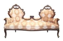 Second half of 19th century Neorokoko style Walnut sofa