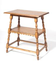 Oak shelf from beginning of 20th century