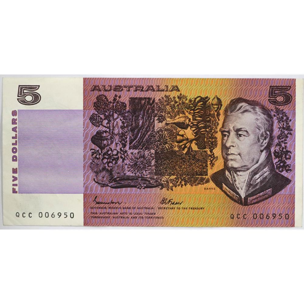 1x Australia $5 Bank Note