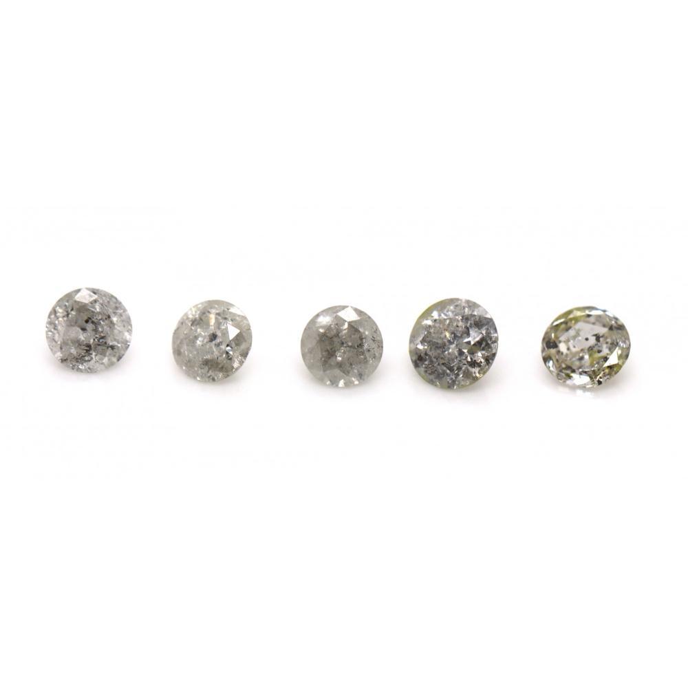 1.15ct TDW, Natural Diamonds