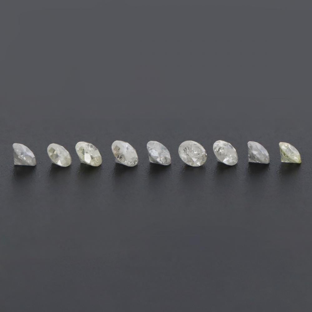 1.90ct TDW, Natural Diamonds