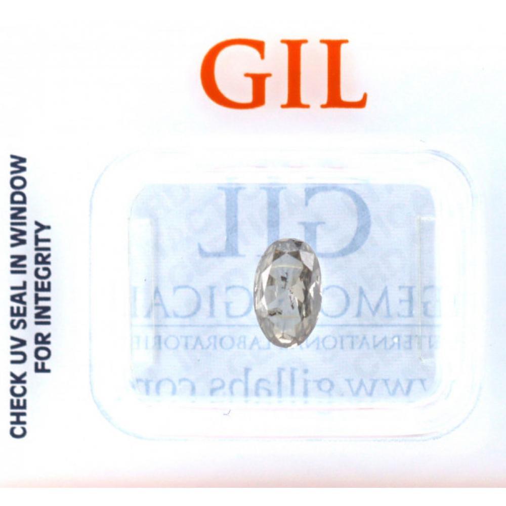 0.80ct Certified, Grey Diamond