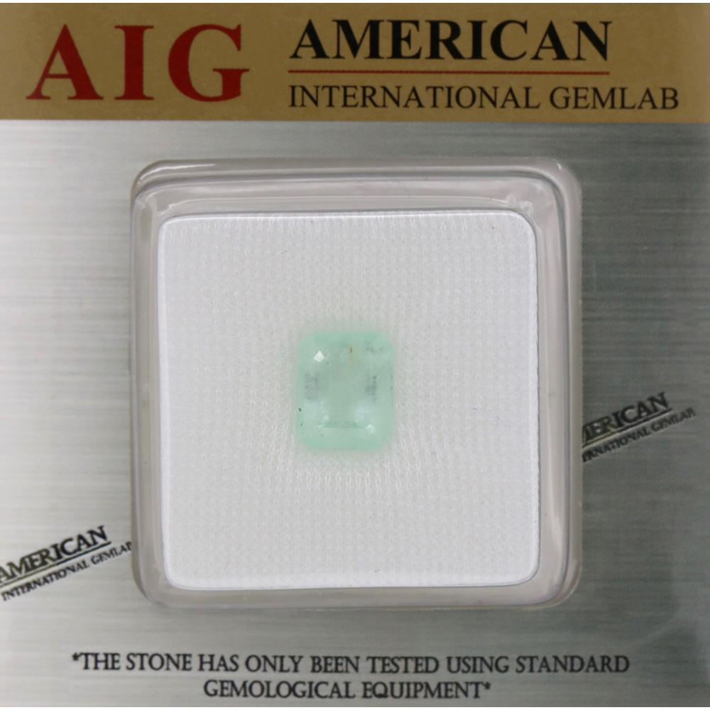 6.68ct Certified, Natural Colombian Beryl Emerald