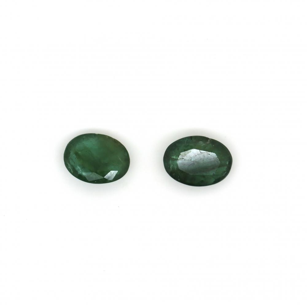 3.73ct TSW, Natural Beryl Emeralds