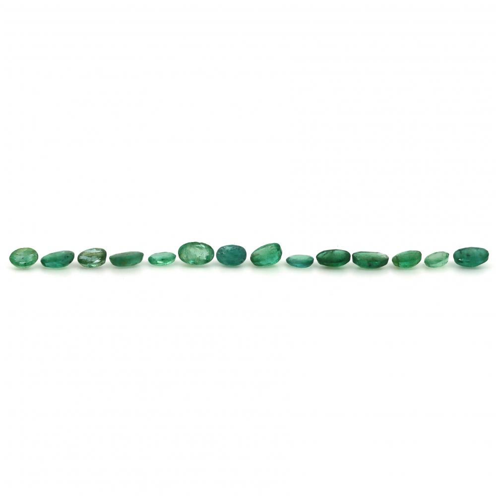 5.22ct TSW, Natural Beryl Emeralds