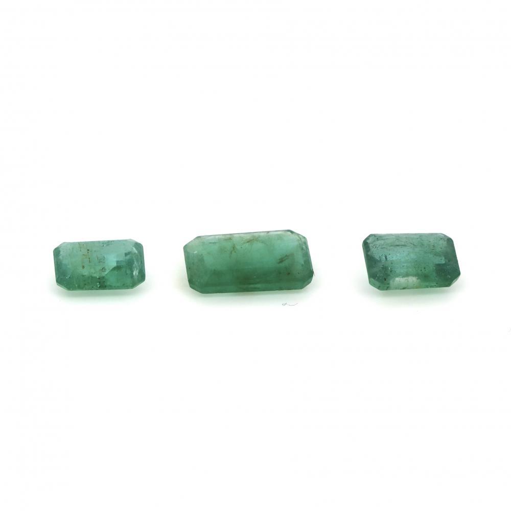 5.19ct TSW, Natural Emeralds