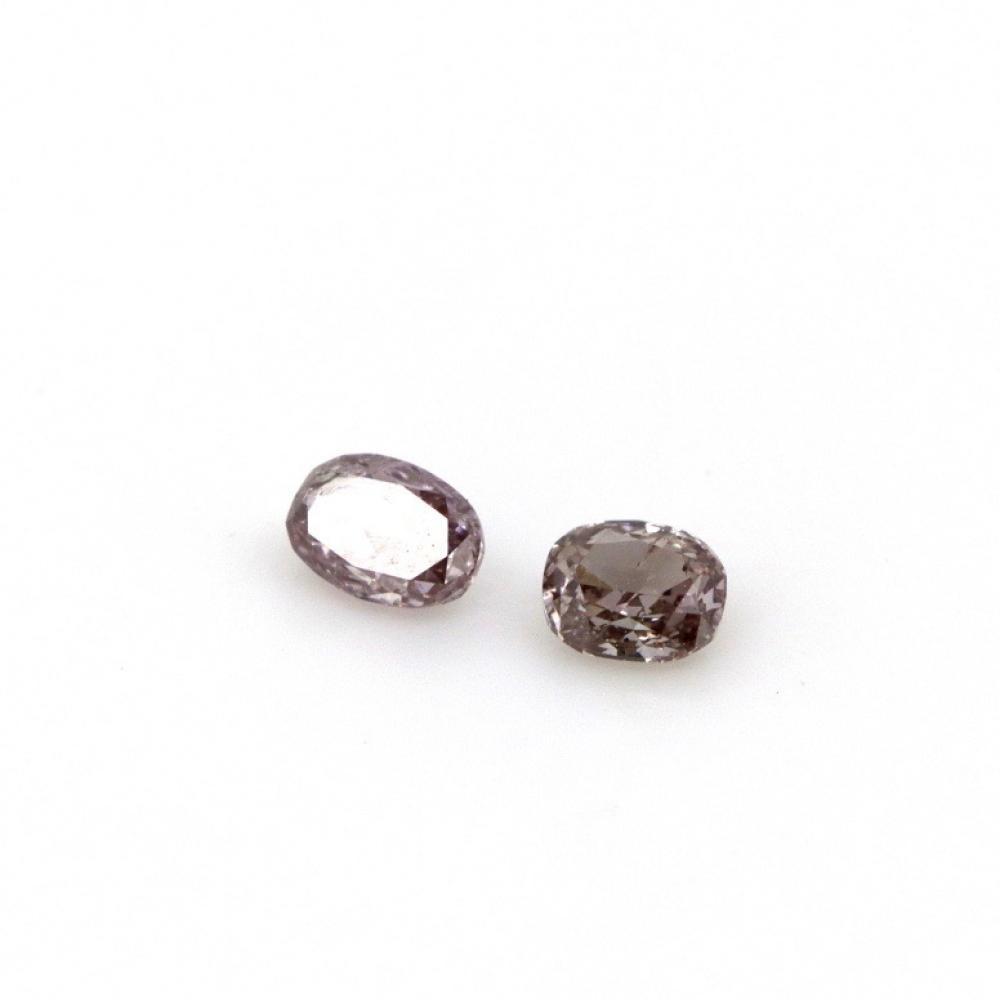 0.16ct TDW Natural Pink Diamonds