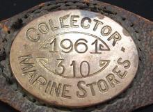 Western Australia Collector of Marine Stores wrist identification