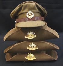Box of Slouch Hats etc. Australian Army