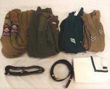 Box of assorted Australian uniform shirts