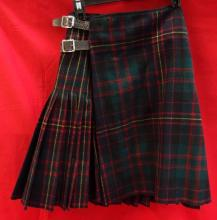 16th battalion, R.W.A.R. Camerons kilt, with leather pouch.