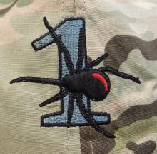Modern Australian Army Special Forces Multicam cap for 1st Squadron Special Air Service Regiment.