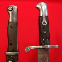 Lot of 2 bayonets