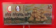 2 x Australian $10 notes 1988 Consecutive Pair