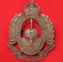1930-42 Period Australian 44th battalion uniform cap badge
