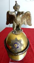 Imperial Russian M1889 Chevalier Guard Double-Headed Eagle Helmet