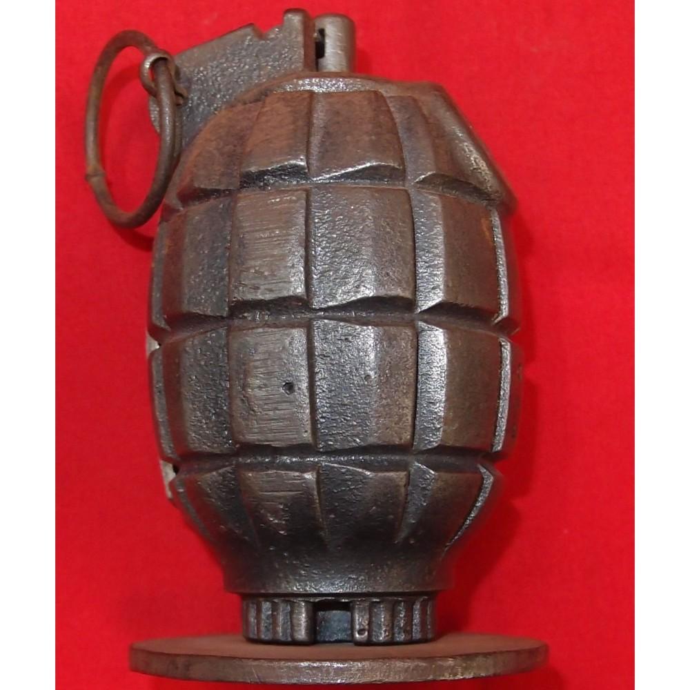 WW2 Australian 'Mills Bomb' Grenade Dated 1941 & RBD Stamped