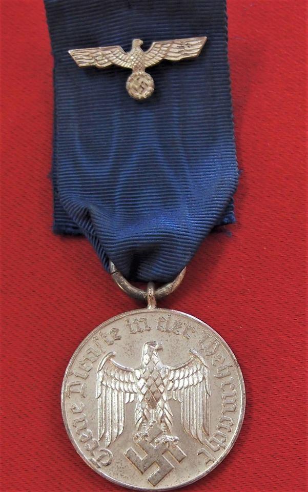 Nazi germany ww2 era army 4 year service medal - German military decorations ww2 ...