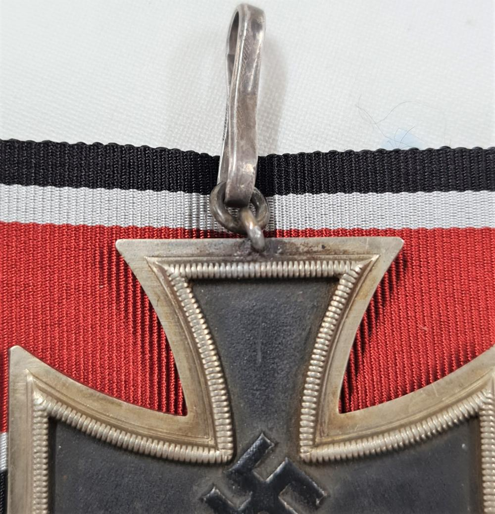 WW2 Germany, field made/worn Knight's Cross of the Iron Cross.