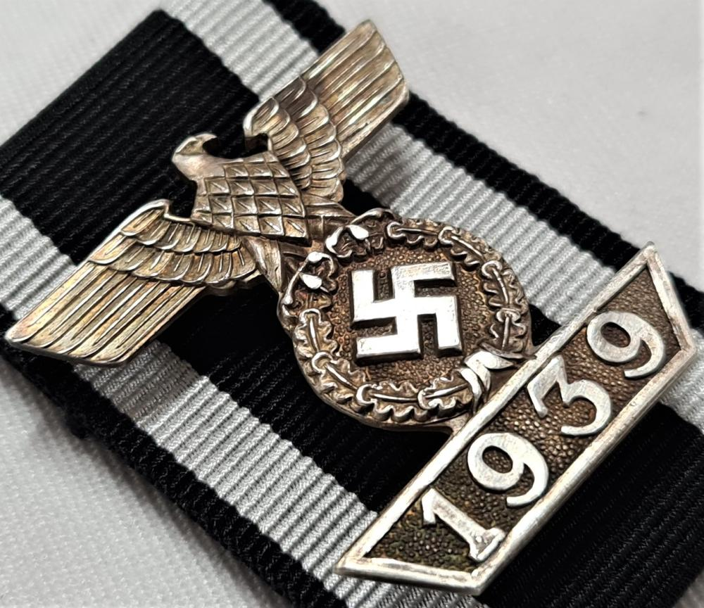 WW2 Germany Bar to the Iron Cross 2nd Class by Godet of Berlin