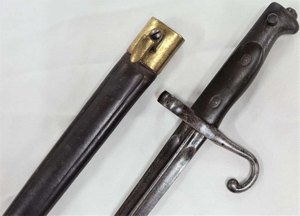 1870's Italian M1870 Vetterli bayonet, TA Truppe African for colonial troops