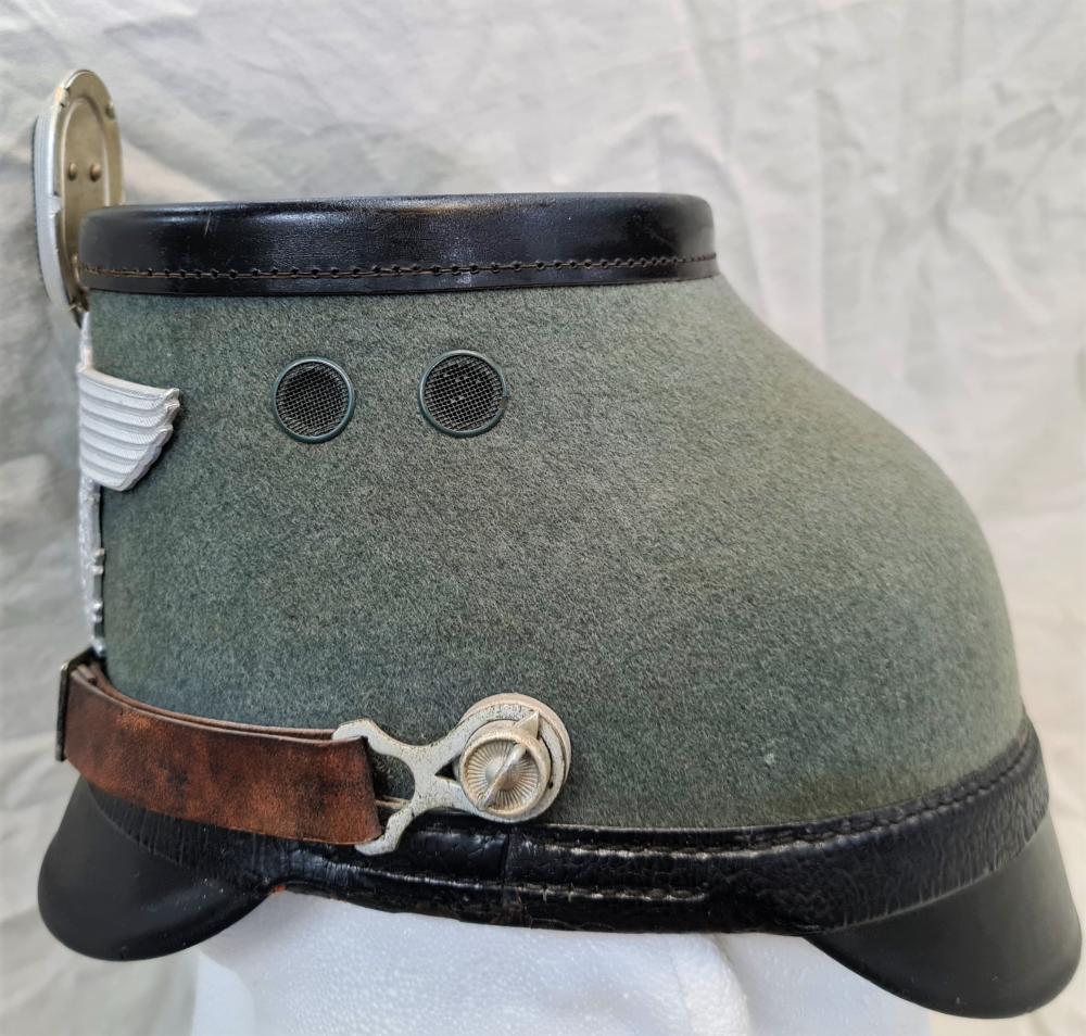 WW2 Germany Police enlisted uniform shako helmet