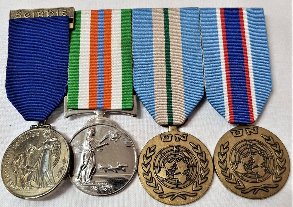 Ireland, Republic, Long Service and UN Peace Keepers medal group of 4