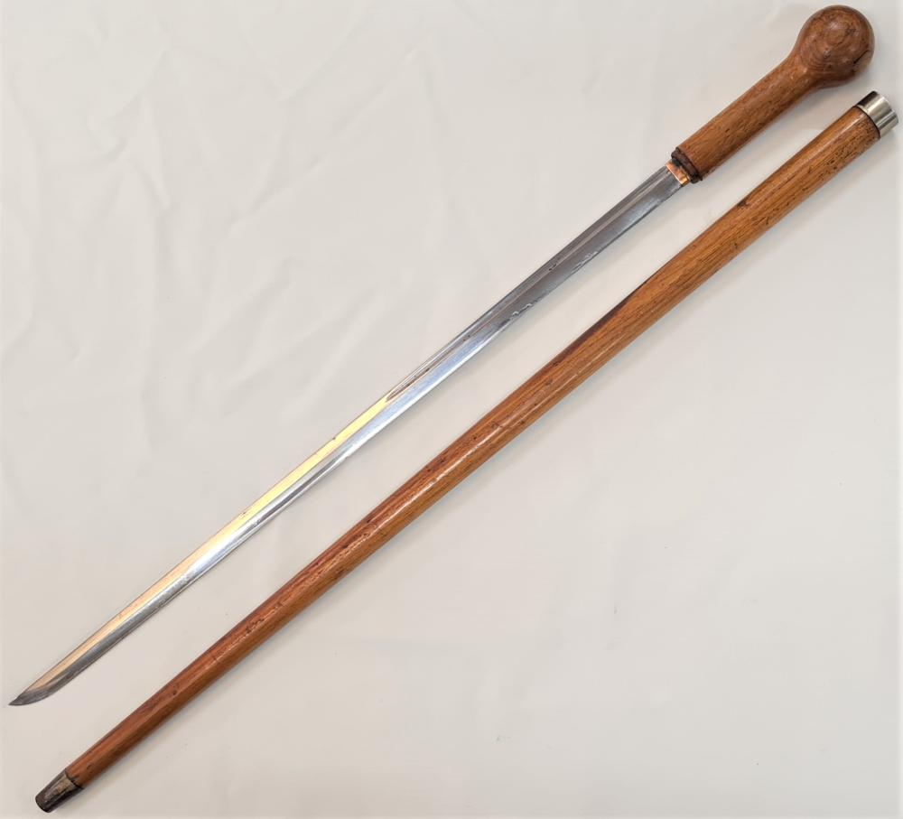 19th century Victorian 'gentleman's sword' with Japanese blade