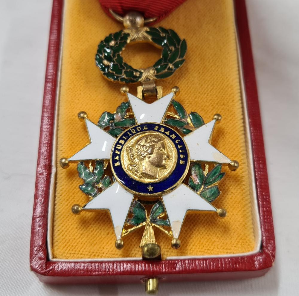 France, Republic, Legion of Honour Medal, 5th Republic in case of issue