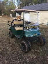 EZ-GO Electric Golf cart with lift package