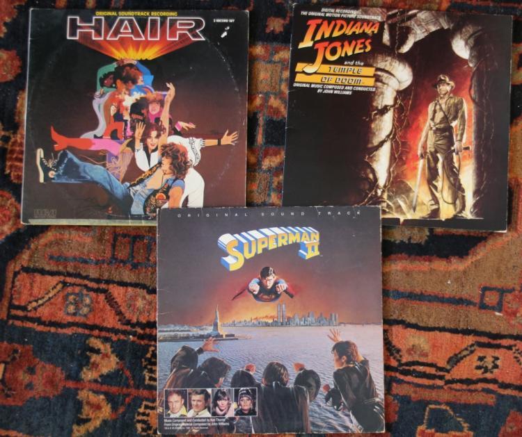 movie soundtrack albums hair superman 2 jones