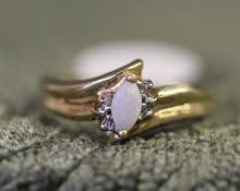 10k / Opal ring