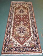 Indo-Serapi Carpet Runner - 2996