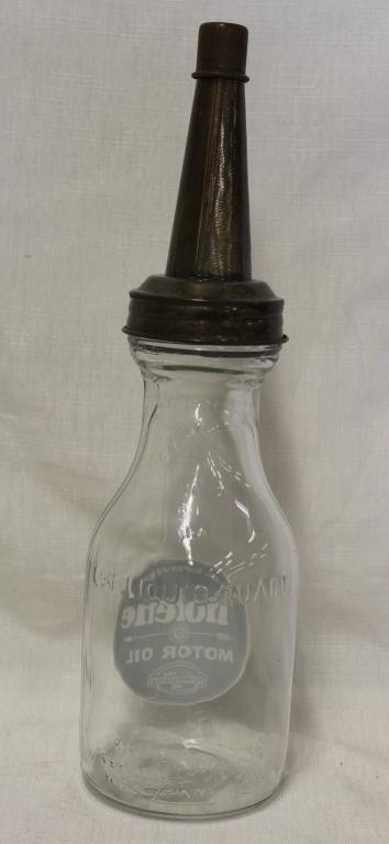 Glass tiolene motor oil bottle for Motor oil plastic bottle manufacturer