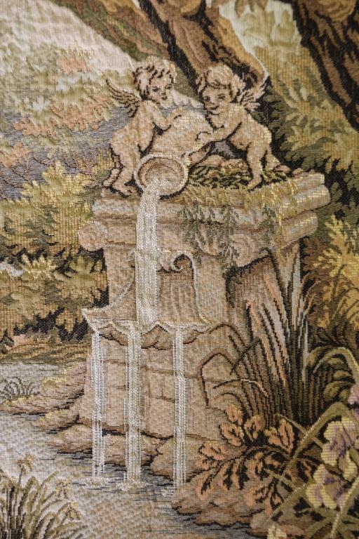 1987 jardin d 39 amour tapestry by marc waymel for Jardin d amour wine