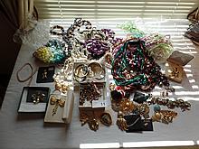 Over 100 items costume jewelry
