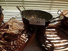 18 copper items lot