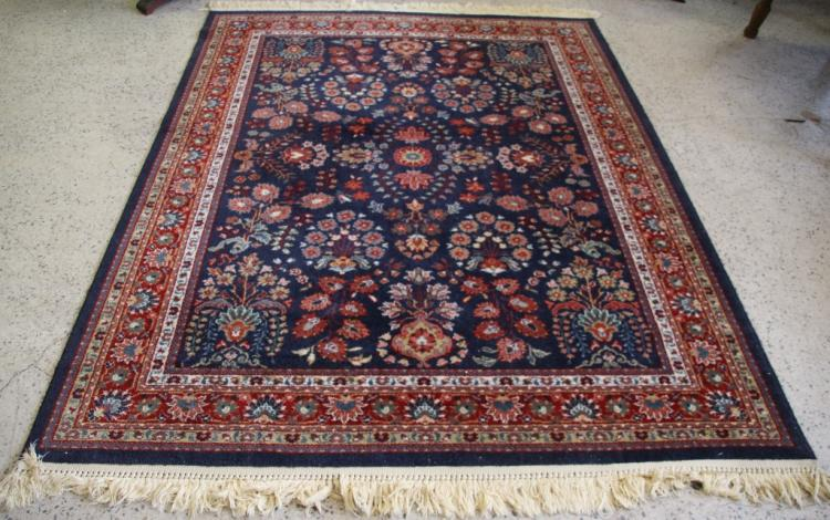 Vintage persian style area rug for Vintage style area rugs