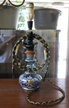 ca. 1950's Turkish Bohemian Glass Hookah
