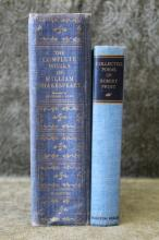 1936 Works of Shakespeare & 1942 Frost Poems
